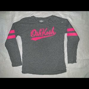 Oshkosh Size 10/12 Long Sleeve T-shirt